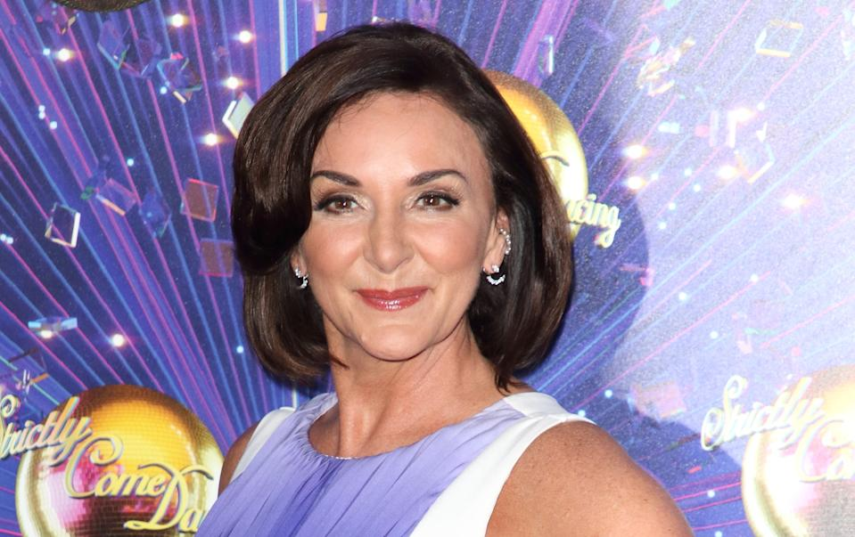 LONDON, UNITED KINGDOM - 2019/08/26: Shirley Ballas at the Strictly Come Dancing Launch at BBC Broadcasting House in London. (Photo by Keith Mayhew/SOPA Images/LightRocket via Getty Images)