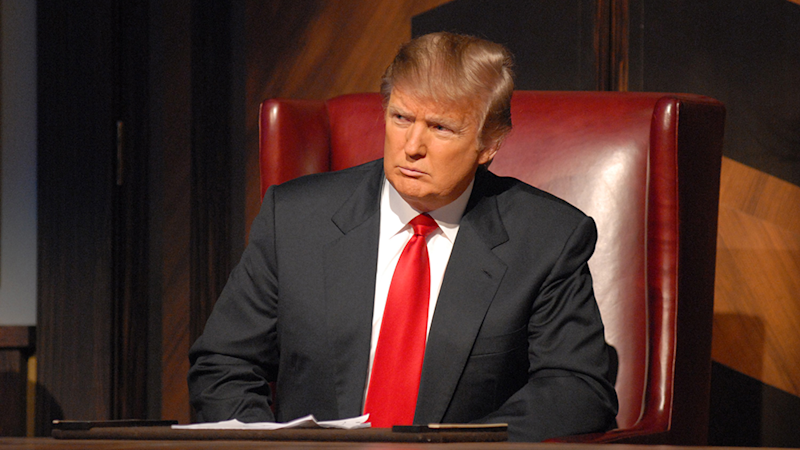 """Donald Trump is """"very keen"""" on hosting The Apprentice: White House"""