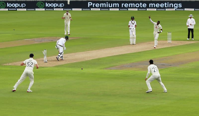 First Test - England v Pakistan
