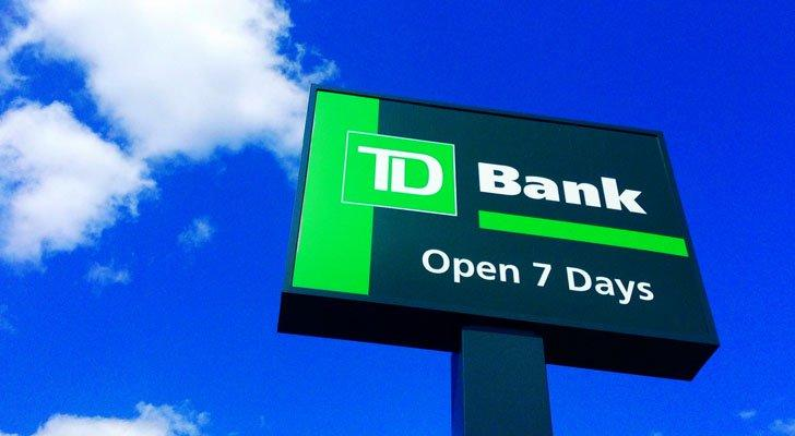 bank stocks TD Bank (TD)