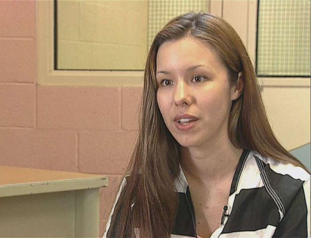 PHOTO: Jodi Arias was 26 when she met Travis Alexander, 29, in 2006. The two were in a relationship before was brutally murdered. She was charged and convicted in his slaying. She spoke to ABC News, here, in 2008. (ABC News)