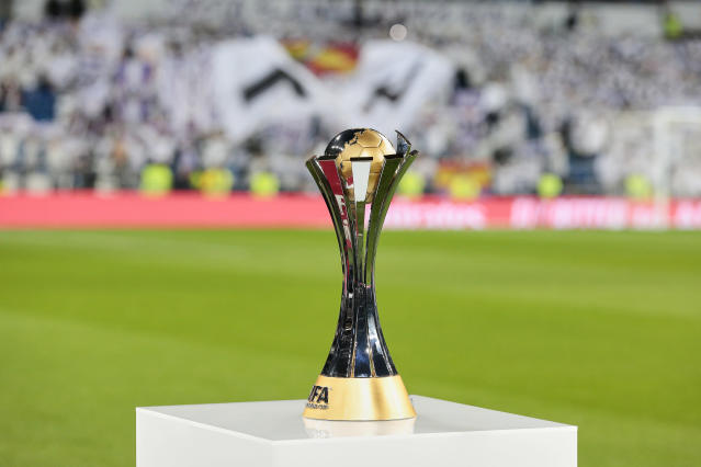 O Real Madrid foi o último time a conquistar a taça de campeão mundial (getty images)