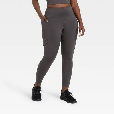 <p>All the pockets on this <span>All in Motion High-Waisted Cargo Leggings</span> ($40) are so useful.</p>