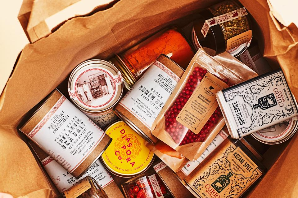 """<h1 class=""""title"""">Fair Trade Spices INSET</h1> <div class=""""caption""""> Fair-trade, direct-to-consumer spices aren't just the ethical choice: They taste better and are delivered right to your door. </div> <cite class=""""credit"""">Photo by Chelsea Kyle</cite>"""