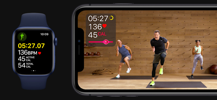 Apple's Fitness Plus subscription package launches later this year.
