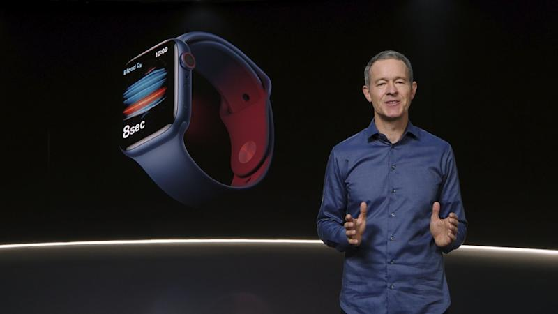 Jeff Williams, Chief Operating Officer von Apple, stellt die Apple Watch Series 6 vor.
