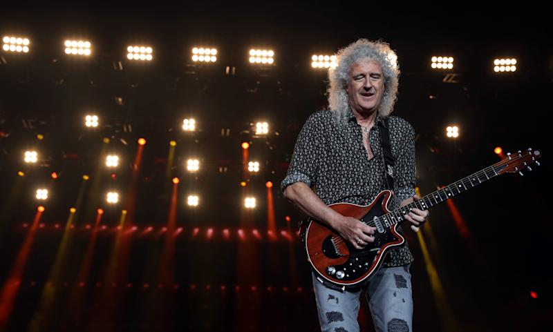 Brian May on stage in Australia back in February (Photo: Cole Bennetts via Getty Images)
