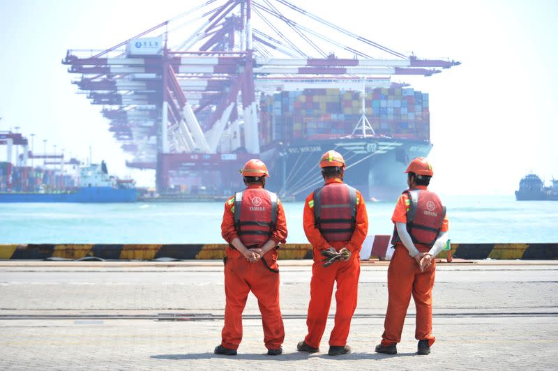 China's export slump to ease in June as economies reopen, imports fall less - Reuters poll
