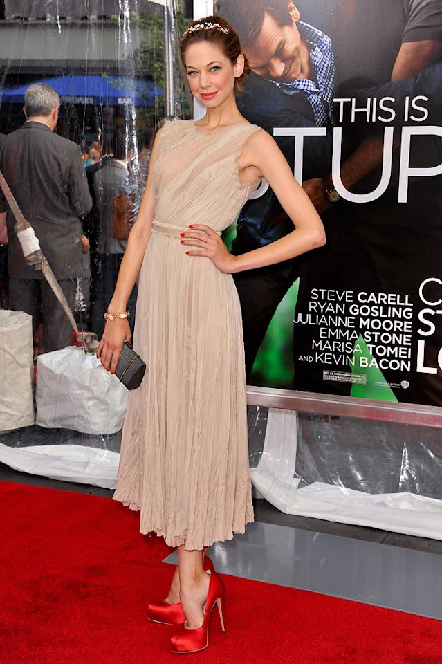 "<a href=""http://movies.yahoo.com/movie/contributor/1810194067"">Analeigh Tipton</a> at the New York City premiere of <a href=""http://movies.yahoo.com/movie/1810157025/info"">Crazy, Stupid, Love</a> on July 19, 2011."