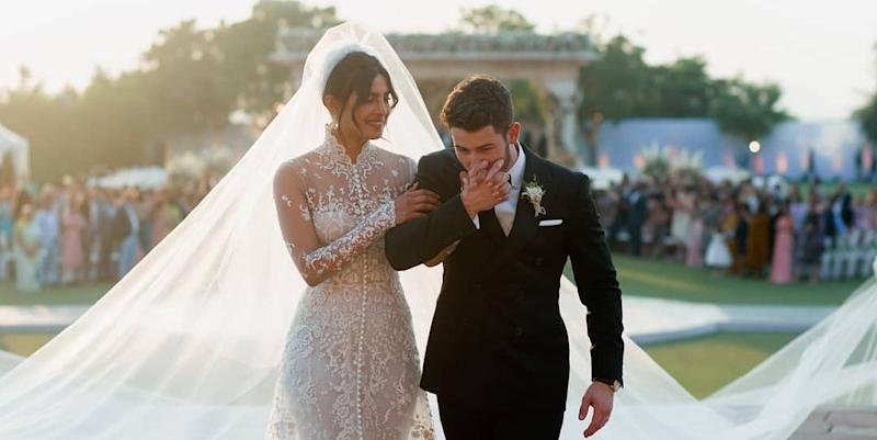 Nick Jonas And Priyanka Chopra Had A Massive 6 Tier 18 Foot Wedding