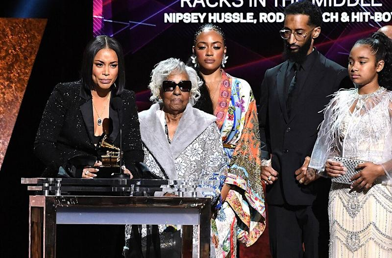 Twitter Is All The Feels Over Nipsey Hussle Grammys Tribute
