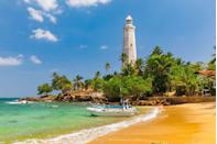 """<p>This magical island that lies southeast of India offers the ultimate island adventure for those seeking a vacation beyond sunbathing. Cultural experiences, breathtaking hikes, historic temple tours, fabulous cuisine, and of course, unbelievable surf and sand, draws in travelers of all kinds. </p><p>Find stylish seclusion at <a href=""""https://edenvillas.com/"""" rel=""""nofollow noopener"""" target=""""_blank"""" data-ylk=""""slk:Eden Villas"""" class=""""link rapid-noclick-resp"""">Eden Villas</a>, with an exciting variety of accommodations that hold up to 20 guests, plus, a dedicated concierge to help you book the curated stay of your dreams. </p>"""