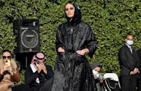 Fashion shows are rare in the conservative Muslim kingdom, where many previous such events were restricted to women or avoided female models altogether