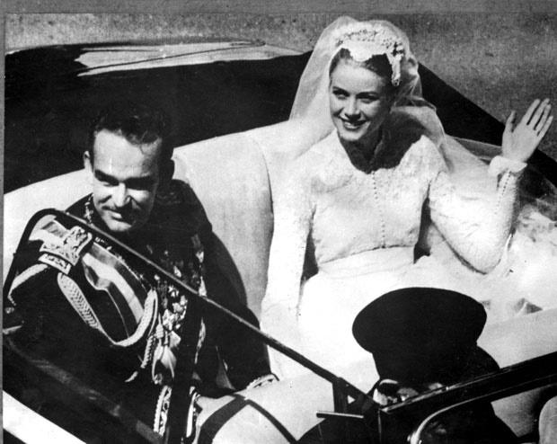 Prince Rainier III of Monaco and Grace Kelly