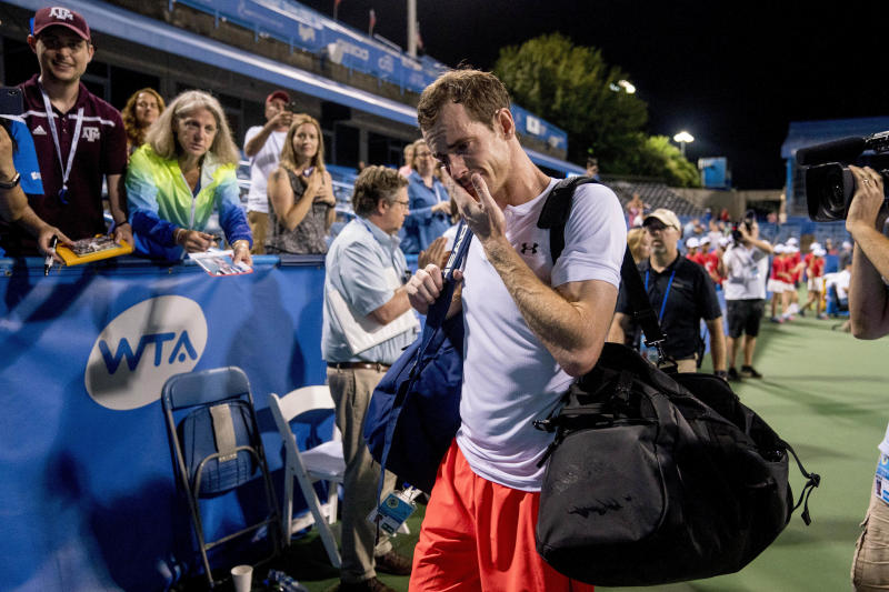 Andy Murray withdraws from Citi Open after grueling 3 a.m. victory