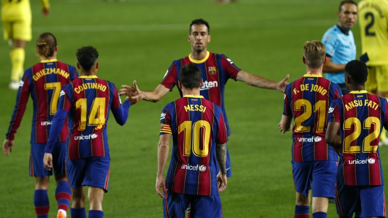 Lionel Messi and Ansu Fati on target as Barca start LaLiga season with easy win