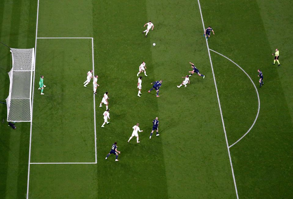 Scotland on the attack (Reuters)
