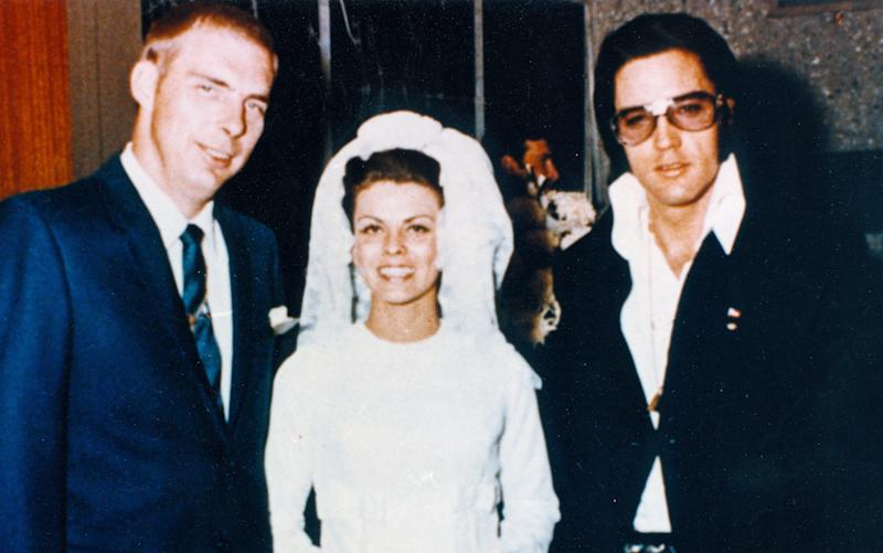 Elvis's bodyguard Dick Grob remembers the day the King came to his wedding in 1973