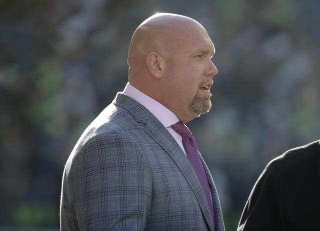 Steve Keim was cited for DUI on July 4. (AP Photo/John Froschauer)