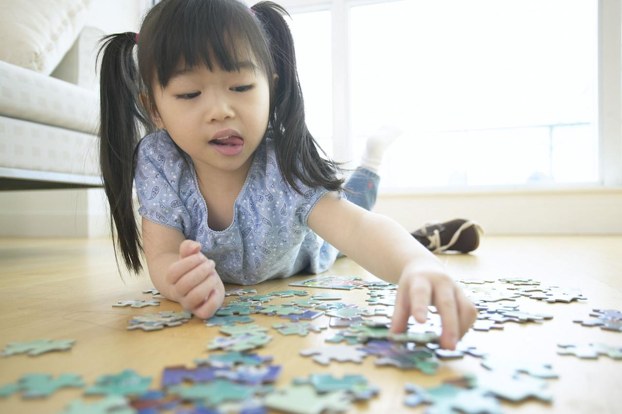 "<p>If you've tried every <a href=""https://www.womansday.com/home/crafts-projects/how-to/g2830/indoor-activities-for-kids/"" target=""_blank"">indoor activity</a> and <a href=""https://www.womansday.com/relationships/family-friends/g25338158/games-for-kids/"" target=""_blank"">fun game</a> you can think of, but your kids still claim to be bored, it's time to give these puzzle games for kids a try. These games, including a 3-D puzzle, a math challenge and more, will keep them busy for hours while challenging their problem-solving skills and helping develop hand-eye coordination.  </p><p>On this list, we've included simple puzzle games for toddlers and children that will test basic spelling and math, and more complicated puzzle games perfect for older kids and the whole family. And the best part? All of these puzzle games for kids are less than $30. </p><p>Here are our favorite puzzle <a href=""https://www.womansday.com/relationships/family-friends/g25338158/games-for-kids/"" target=""_blank"">games for kids</a>.</p>"