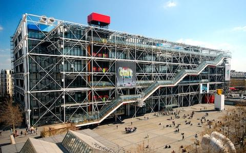 The Pompidou Centre in Paris - Credit: Getty