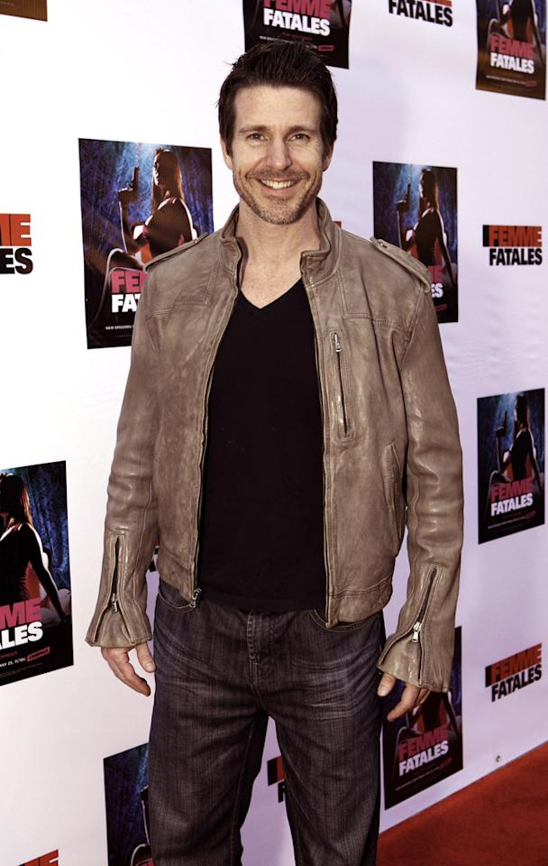 """Sean Douglas attends Cinemax's New Series """"Femme Fatales"""" - Cast & Crew Screening at ArcLight Hollywood on May 21, 2012 in Hollywood, California."""
