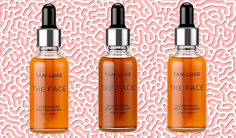 Tan-Luxe The Face Self-Tan Drops are the safest way to get the most natural-looking tan in town. (Photo: HSN)