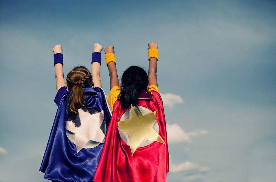 "<p>It's never too early to start planning your Halloween costume, and if you're stumped this year, fear not! We've rounded up some of our favorite superhero costumes right here that will save the day, even if you're feeling totally uninspired to dress up. Ahead, you'll find options for <a href=""https://www.countryliving.com/diy-crafts/g29074815/family-halloween-costume-ideas/"" rel=""nofollow noopener"" target=""_blank"" data-ylk=""slk:family Halloween costume ideas"" class=""link rapid-noclick-resp"">family Halloween costume ideas</a>—yes, even <a href=""https://www.countryliving.com/diy-crafts/g4571/diy-halloween-costumes-for-women/"" rel=""nofollow noopener"" target=""_blank"" data-ylk=""slk:DIY Halloween costumes for women"" class=""link rapid-noclick-resp"">DIY Halloween costumes for women</a>, too! Whether you're looking for a <a href=""https://www.countryliving.com/diy-crafts/g21349110/best-friend-halloween-costumes/"" rel=""nofollow noopener"" target=""_blank"" data-ylk=""slk:best friend Halloween costume"" class=""link rapid-noclick-resp"">best friend Halloween costume</a> or a <a href=""https://www.countryliving.com/diy-crafts/g1360/halloween-costumes-for-kids/"" rel=""nofollow noopener"" target=""_blank"" data-ylk=""slk:Halloween costume for kids"" class=""link rapid-noclick-resp"">Halloween costume for kids</a>, you're bound to discover a superhero outfit that fits your needs.</p><p>Although some of these outfits are available to buy, you'll find that a lot of these superhero costumes are completely DIY. So if you want a <a href=""https://www.countryliving.com/diy-crafts/g1189/best-halloween-crafts-ever/"" rel=""nofollow noopener"" target=""_blank"" data-ylk=""slk:Halloween craft"" class=""link rapid-noclick-resp"">Halloween craft</a> to make with your kids, what better way to spend time together than making one of these looks? Just because they're DIY doesn't mean they're hard to put together either. A lot of these homemade outfits only call for swatches of fabric or felt—it doesn't get much easier than that. Even if you can't find the Robin to your Batman, we've also included <a href=""https://www.countryliving.com/life/kids-pets/tips/g1913/pet-halloween-costumes/"" rel=""nofollow noopener"" target=""_blank"" data-ylk=""slk:pet Halloween costumes"" class=""link rapid-noclick-resp"">pet Halloween costumes</a> too. </p><p>Are you ready to be a hero at your next Halloween party? Just look to some of our favorite superhero costumes for inspiration.</p>"