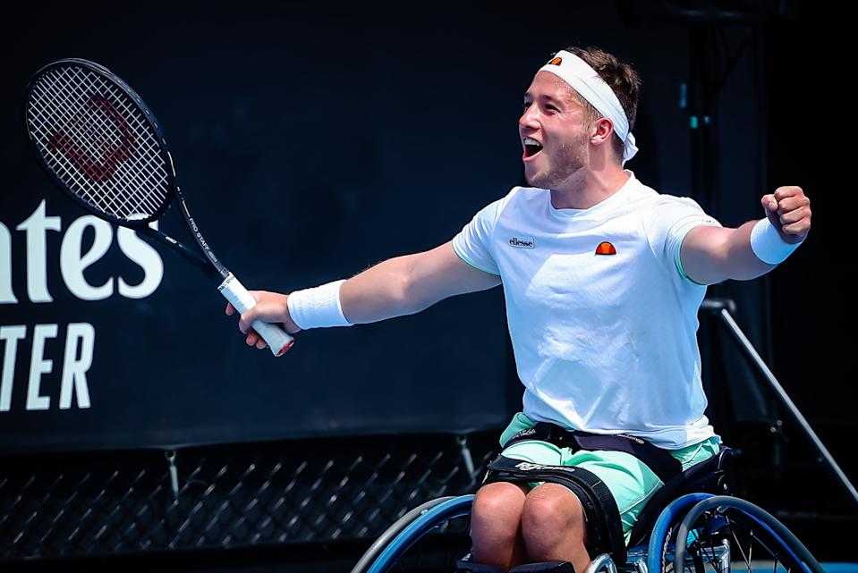 Hewett, 23, retains some hope that there is a small shred of light at the end of the tennis tunnel