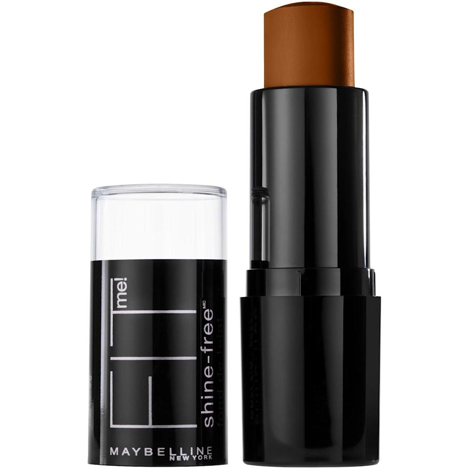 <p>Lovers on the convenience of stick foundations will adore the <span>Maybelline FIT ME Shine-Free + Balance Foundation</span> ($7), which gives a full-coverage finish without ever getting cakey. Simply draw it on your face and blend it in with the warmth of your fingers.</p>