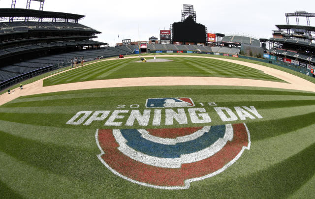 The 2019 MLB season is getting an early start. (AP Photo/David Zalubowski)