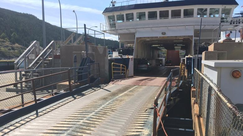 Delays after passengers aboard Bell Island ferries refuse to get out of cars