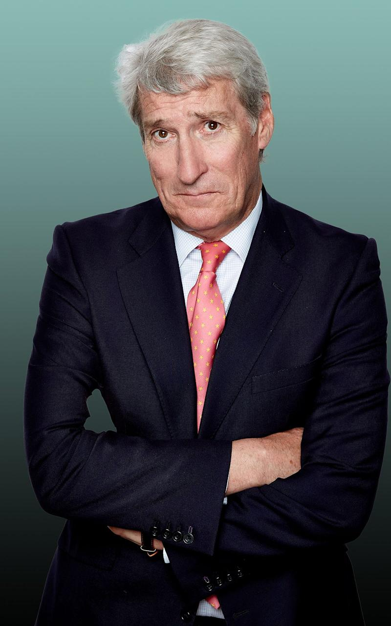 Jeremy Paxman isn't impressed - Credit: Nicky Johnson/Channel 4 images