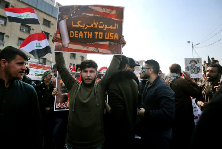 Many supporters of the Hashed al-Shaabi are unashamedly pro-Iran and hostile to the United States