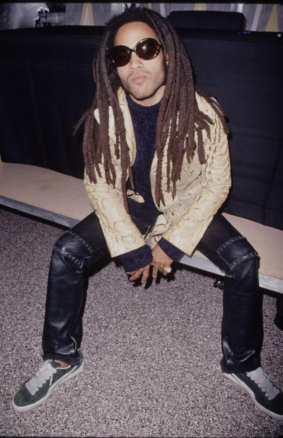 <p>In recent years, Lenny Kravitz has opted for a shorter look. But back in the 1990s, the singer wore his hair in dreadlocks that came down to his torso. </p>