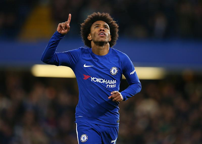 pretty nice 4d2df 43b73 Willian has become Chelsea's most important player