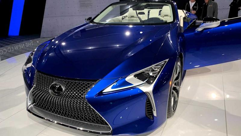 One-Of-A-Kind 2021 Lexus LC 500 Vert Sells For $2 Million
