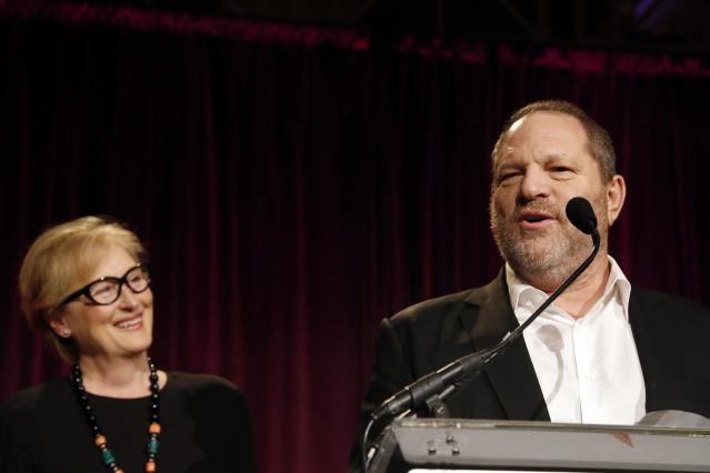 Meryl Streep and Harvey Weinstein used to have a working relationship. (Photo: Getty Images)