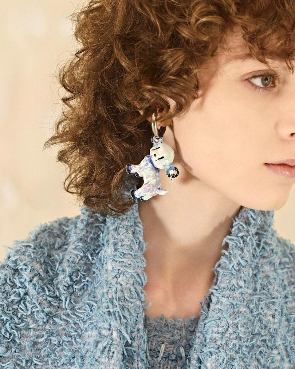 <p>A piece you never thought you needed: animal motif jewelry. These light-hearted styles will surely lighten the mood.<em><br></em></p><p><em>Acne Studios</em></p>