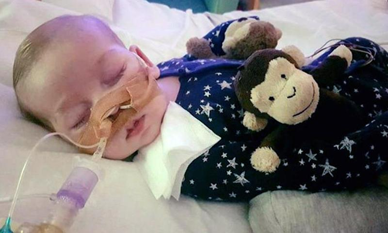 Charlie Gard's parents want to take him to the US where a treatment is being trialled.