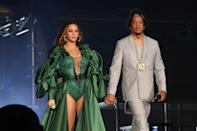 "<p>Queen Bey and Jay-Z introduced Blue Ivy Carter to the world on January 9, 2012. ""Hello Hello Baby Blue,"" the couple said in a statement to <a href=""http://www.mtv.com/news/1676970/beyonce-jay-z-birth-announcement-blue-ivy/"" rel=""nofollow noopener"" target=""_blank"" data-ylk=""slk:MTV News"" class=""link rapid-noclick-resp"">MTV News</a>. ""We are happy to announce the arrival of our beautiful daughter, Blue Ivy Carter, born on Saturday, January 7, 2012."" Beyonce and Jay-Z <a href=""https://www.cnn.com/2017/06/18/entertainment/beyonce-babies/index.html"" rel=""nofollow noopener"" target=""_blank"" data-ylk=""slk:welcomed twins"" class=""link rapid-noclick-resp"">welcomed twins</a>—Sir and Rumi—in 2017.</p>"