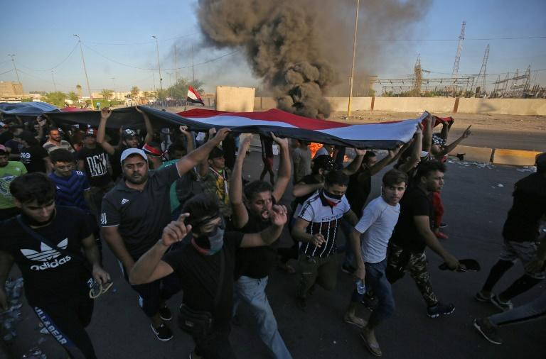 Iraq's recent wave of protests saw more than 100 people killed (AFP Photo/AHMAD AL-RUBAYE)