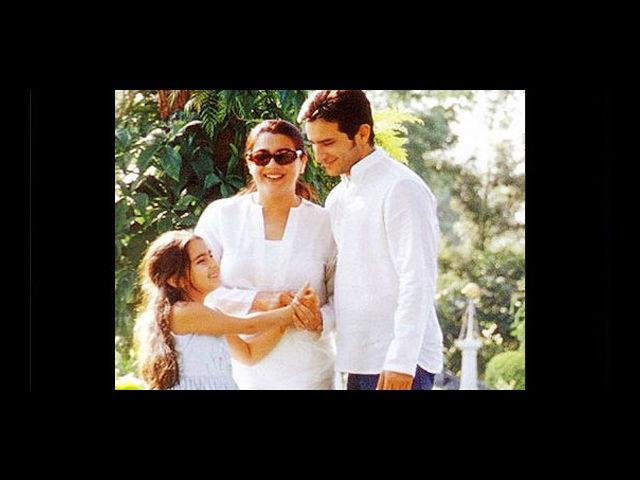 Saif Ali Khan marriage with Amrita Singh lasted for 13 years. And now he is married to Kareena Kapoor.