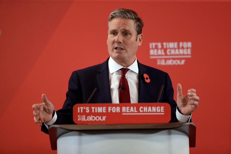 <strong>Survey has Starmer securing 61% and Long-Bailey 39% in final round of voting.</strong> (Photo: ASSOCIATED PRESS)