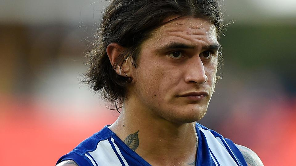Marley Williams was one of 11 players to be de-listed by North Melbourne after their dismal 2020 season. (Photo by Matt Roberts/AFL Photos/via Getty Images)