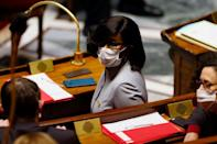 French Junior Minister of Gender Equality Elisabeth Moreno. Women still hold just over a quarter of parliamentary seats worldwide, and only 22.6 percent of ministerial positions