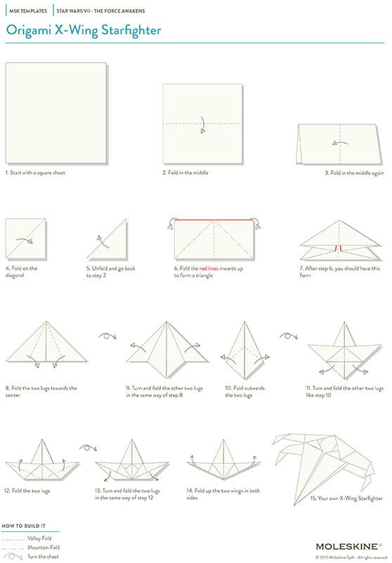 Custom written paper airplane instructions