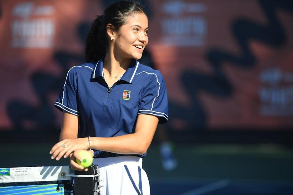 Emma Raducanu's journey into professional tennis has been partly funded by Amazon Prime Video (Jeremy Selwyn/Evening Standard/PA) (PA Wire)