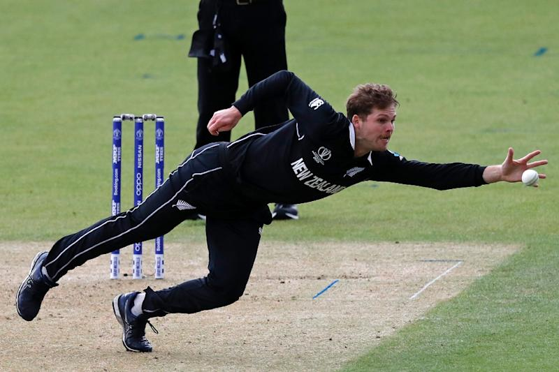 New Zealand's Lockie Ferguson has led his team's pace attack (AFP Photo/Adrian DENNIS)