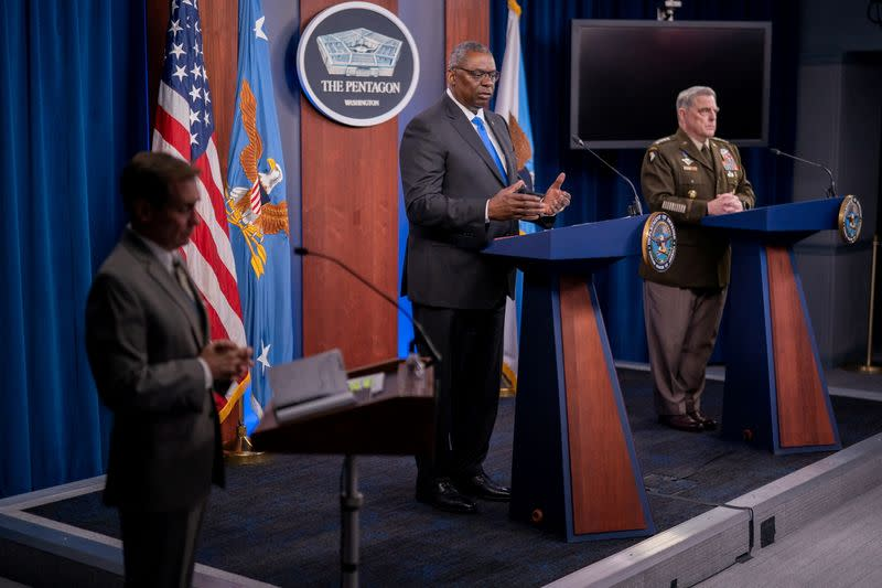FILE PHOTO: Pentagon briefing on Ongoing Afghanistan Conflict